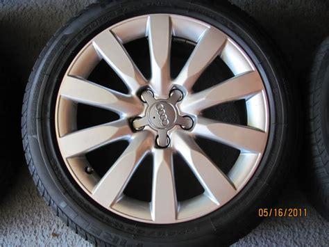 audi a4 stock tires audi a4 stock 17x8 10 spoke wheels tires audiforums