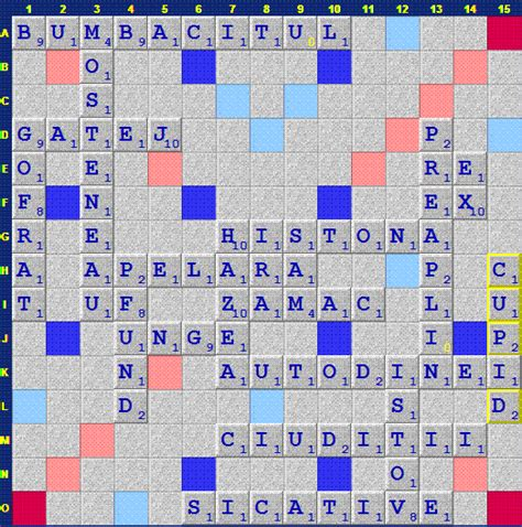 isc scrabble s a jucat azi pe isc ianuarie 2011