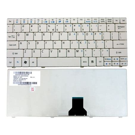 Keyboard Acer Aspire One 722 Bandung keyboard acer aspire one 721 722 751 753h white