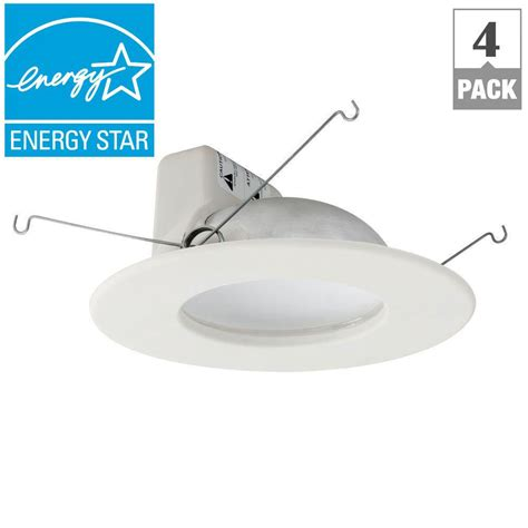 Lu Downlight 40 Watt ecosmart 65w equivalent soft white dimmable led br30
