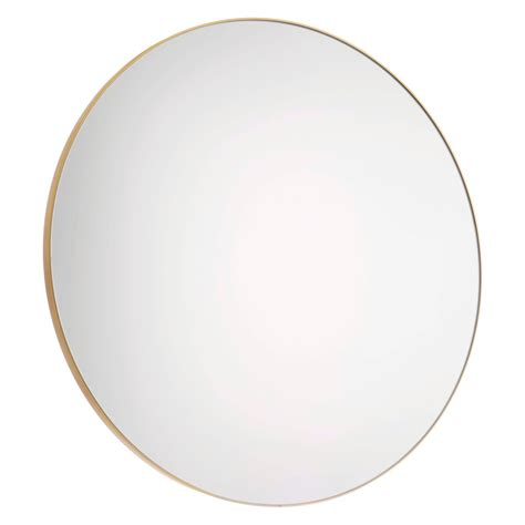 Patsy d82cm large round gold wall mirror buy now at habitat uk