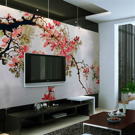 Wall Mural Ideas | 40 tv wall decor ideas decoholic