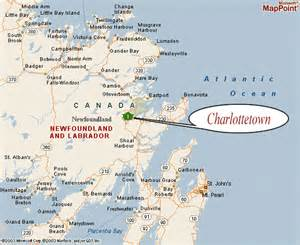 gander canada map map of airports in newfoundland pictures to pin on