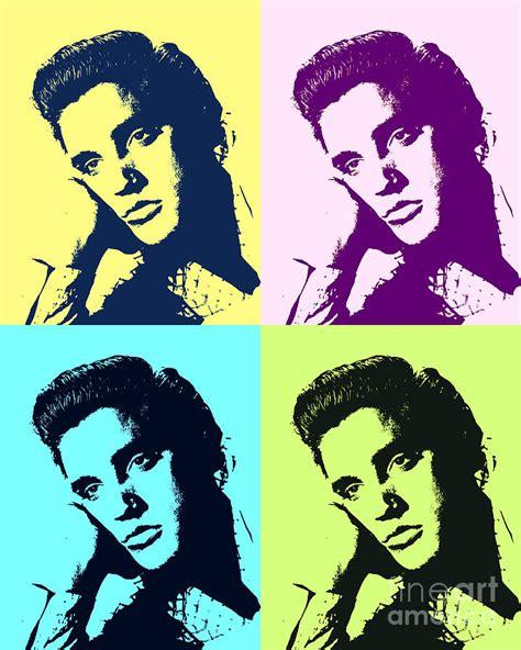 elvis presley pop art painting elvis presley pop art painting by pd