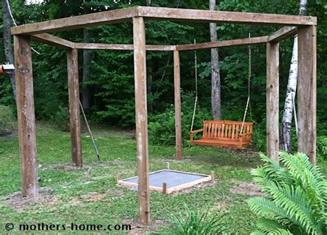 hexagon fire pit swing fire pit swing set as seen on pinterest mother s home