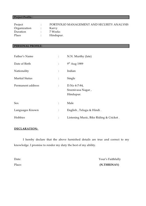 what is the personal profile on a resume 28 images the resume professional profile exles