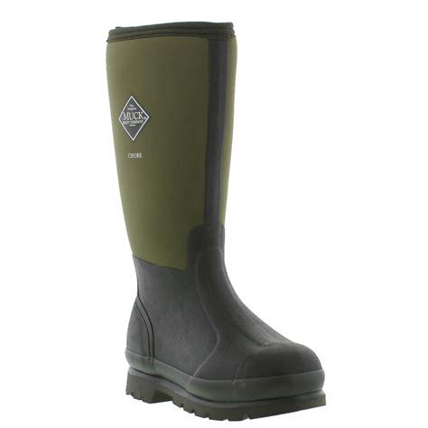muck boots muck boots chore hi wellies mens womens black green
