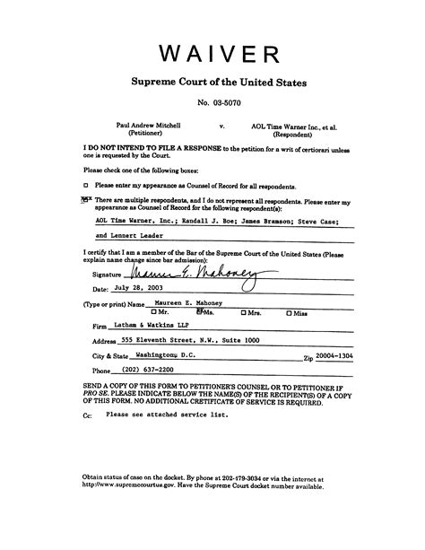 Divorce Release Letter Sle Waiver Pictures To Pin On Pinsdaddy