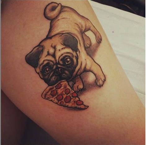 pug tattoos this is just one of the many tattoos done by myke