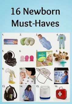 Baby Shower Necessities by Newborn Necessities On Baby Must Haves Baby