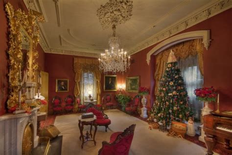 victorian era home decor almost the night before christmas at morris butler house