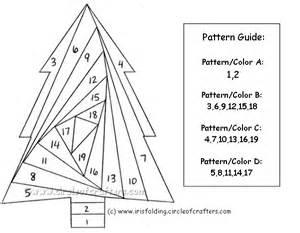 Iris Folding Christmas Cards Templates Free Printable Iris Folding Patterns