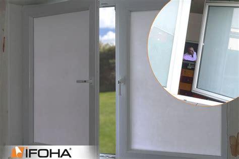 Sichtschutzfolie Fenster Innen Durchsichtig by Wei 223 E Verdunkelungsfolie F 252 R Sichtschutz Am Fenster Ifoha