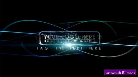 free after effect logo template 3d logo reveal after effects project videohive 187 free