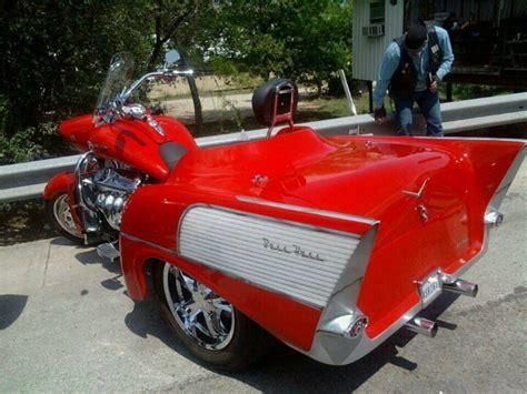 Boss Hoss Motorrad Mobile by 1957 Chevrolet Belair Trike The Boss Hoss Motorcycles