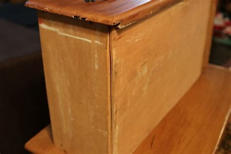 broken furniture how to paint problem furniture to look distressed without