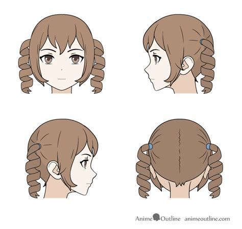 Cool Anime Hairstyles For Guys With Curly Hair by How To Draw Curly Anime Hair For Guys Best Curly Hair 2017