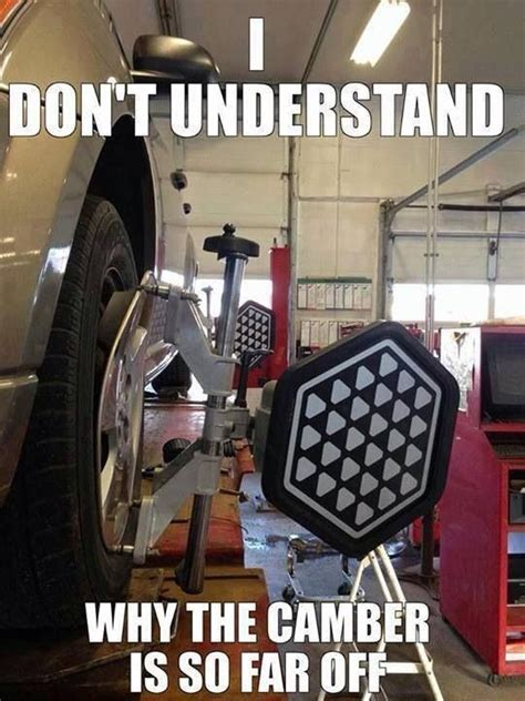 subaru mechanic meme alignment you re doing it wrong automotive tech humor