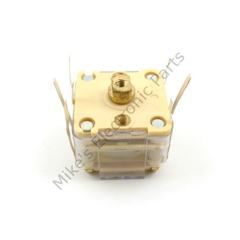 poly variable capacitor poly variable capacitor dual 335pf and 20pf mike s electronic parts