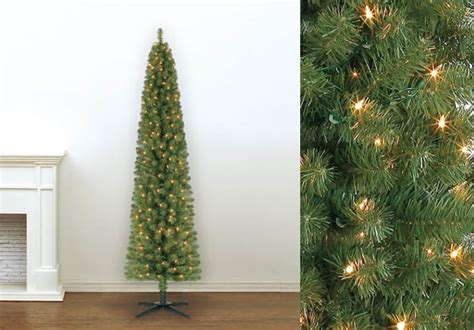cvs christmas trees pre lit 49 99 reg 100 pre lit 7 foot pencil artificial tree free shipping
