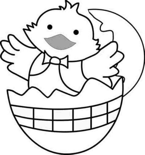 easy easter coloring pages printable easter chick colouring sheets printable for kindergarten