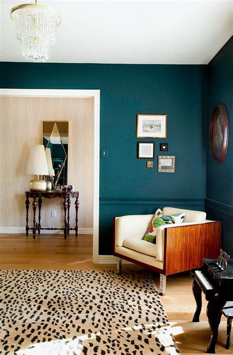 Wandfarbe Trend 2018 by Trend 2018 F 252 R Wandfabe Petrol Farbe Ist Angesagt