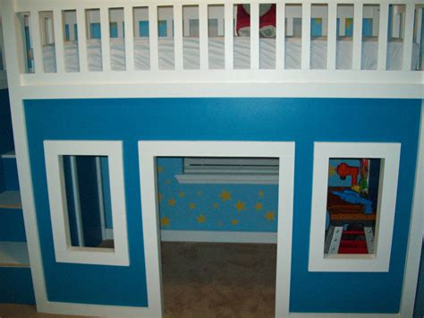 playhouse loft bed with stairs ana white playhouse loft bed with stairs and slide