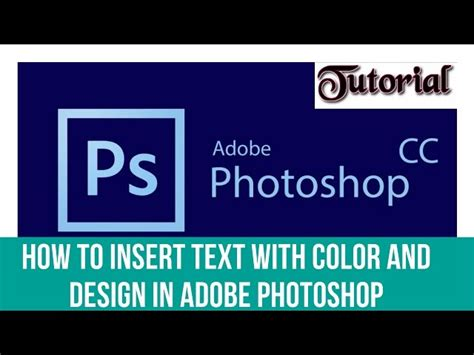 put pattern in text photoshop how to insert text with color and design in adobe