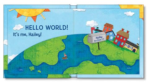 hello world books 17 best images about hello world personalized board book