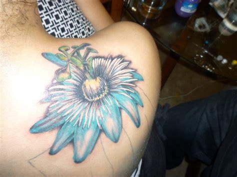 passion flower tattoo flower junkiez tatts