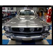 65 Mustang With Ghost Stripes  Mustangs Pinterest