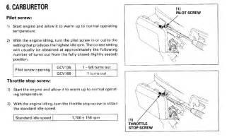 gx630 honda small engine carburetor diagram html auto