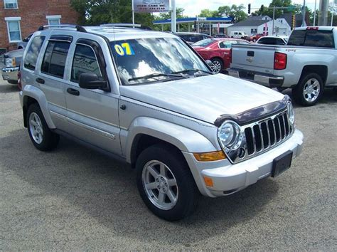 2007 Jeep Liberty Limited 2007 Jeep Liberty Limited 4dr Suv 4wd In Byron Il Lace