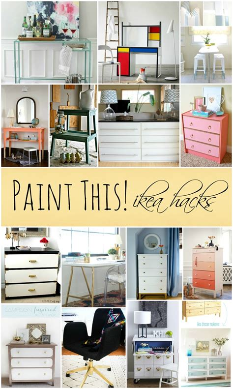 ikea furniture hacks paint this ikea hacks it all started with paint