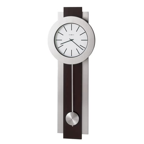 modern wall clocks howard miller bergen contemporary wall clock 625279