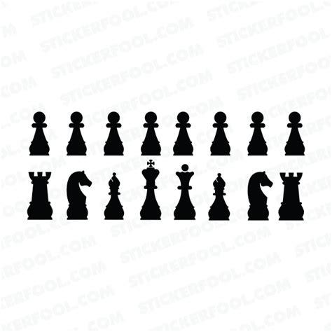 Sticker Wall Quotes chess piece decal sticker 1 vinyl sticker provider