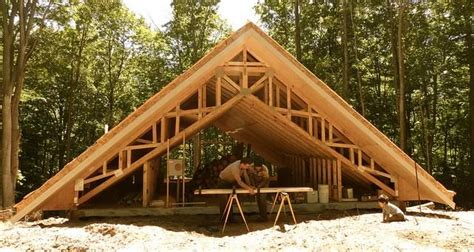 Earth Sheltered Cabin by Cordwood Cabin With 24 Thick Walls Makes It Energy