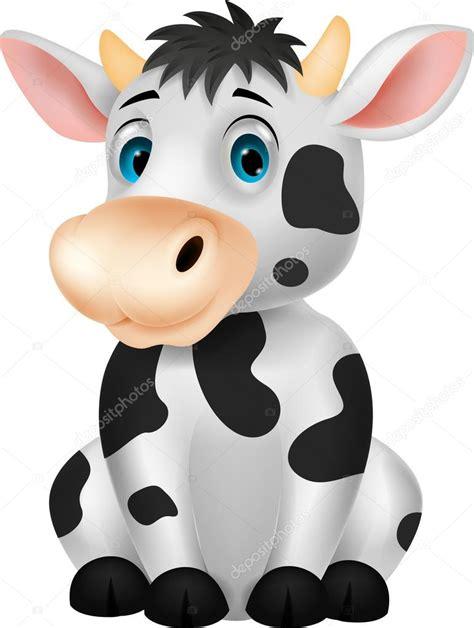 imagenes de vacas kawaii sesi 243 n de vaca cute dibujos animados vector de stock