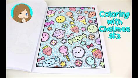 kawaii coloring book coloring with chelmee 3 kawaii coloring book