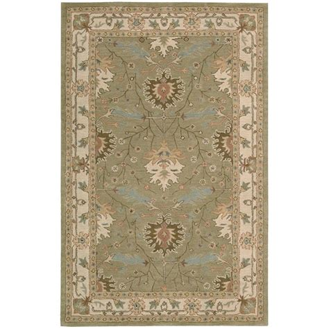 8 X 6 Area Rug Nourison Earth Treasures 8 Ft X 10 Ft 6 In Area Rug 002181 The Home Depot
