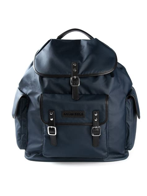 Buckle Backpack dsquared 178 buckle fastening backpack in blue for lyst