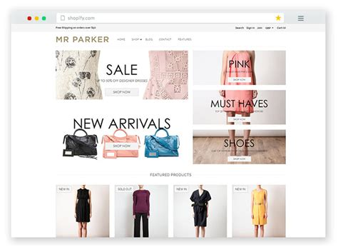 Parker Furniture by 20 Best Free Premium Amp Responsive Shopify Ecommerce