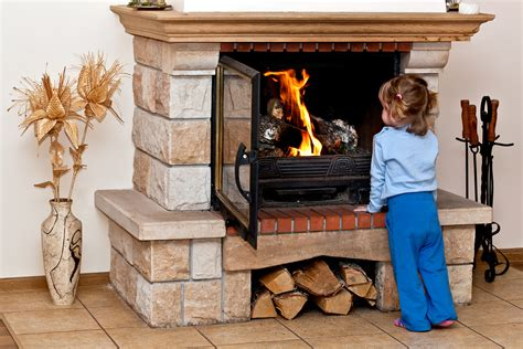 keep your fireplace child pet friendly
