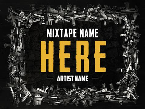 design cover art free online hip hop mixtape cover v6 freebie download photoshop