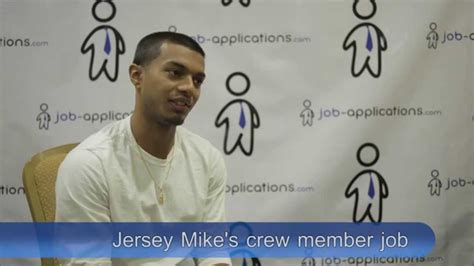 jersey mike s printable job application jersey mike s subs interview crew member youtube