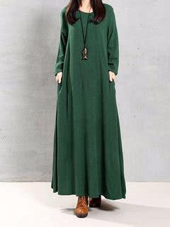 Wap Tunic Dress vintage cotton tunic baggy sleeve maxi dress
