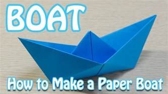 A Paper Boat That Floats - how to make a paper boat that floats in water step by