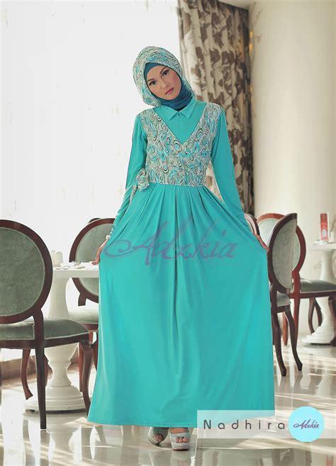 Grosir Baju Gamis Muslim Kia Maxy Two In One Ml nadhira by adzkia tosca baju muslim gamis modern