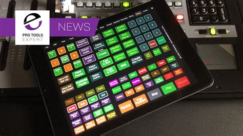 Free Pro Tools 12 Touchosc Template For Ipad Released Pro Tools Expert Pro Tools Templates