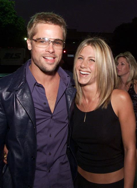 Brad To Jen Dump Your New by Brad Pitt Secretly Met Aniston Weeks Before